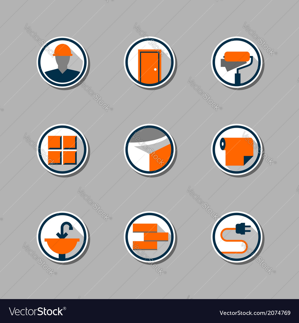 Repair icons vector | Price: 1 Credit (USD $1)