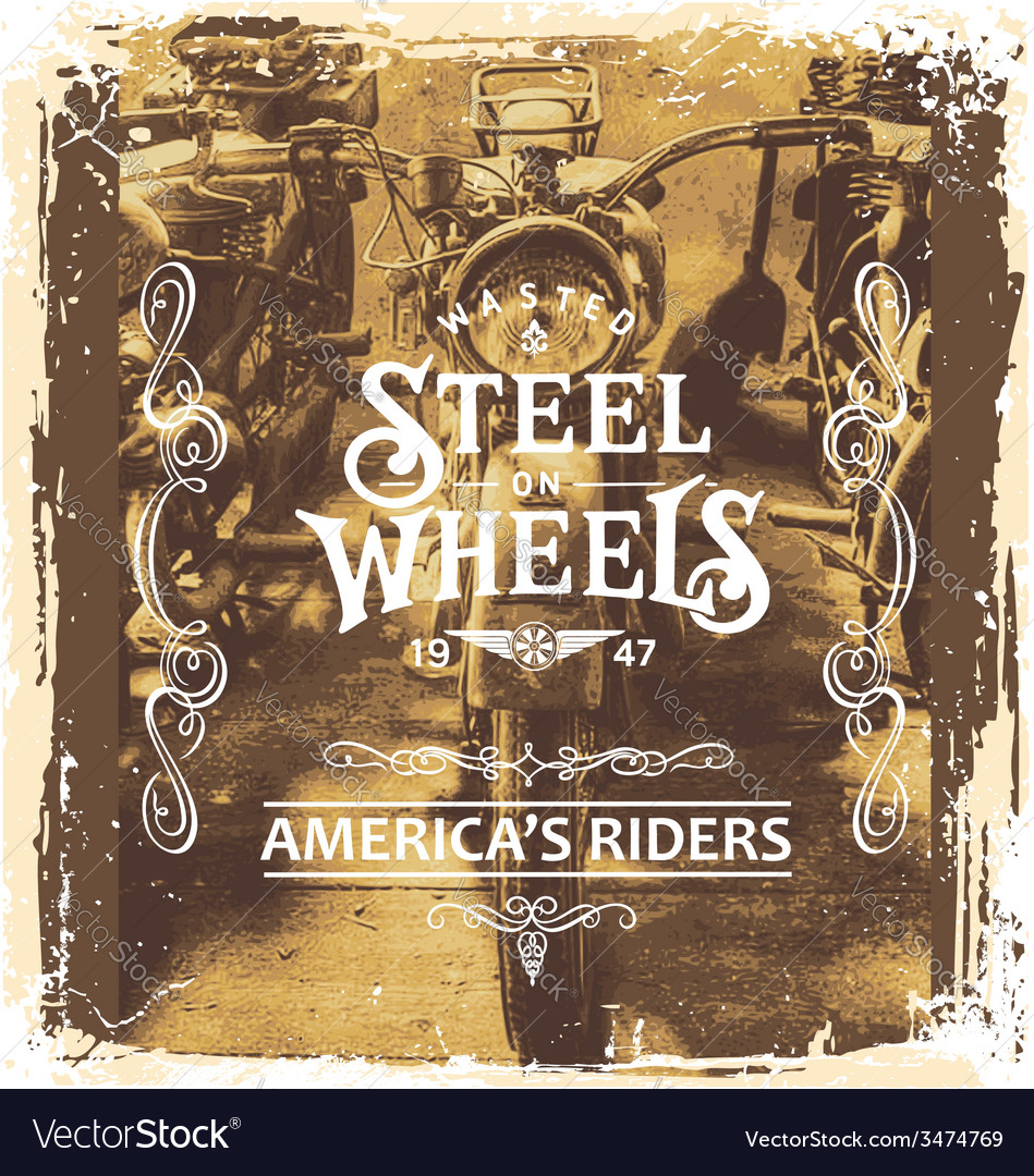 Steel on wheels vector | Price: 3 Credit (USD $3)