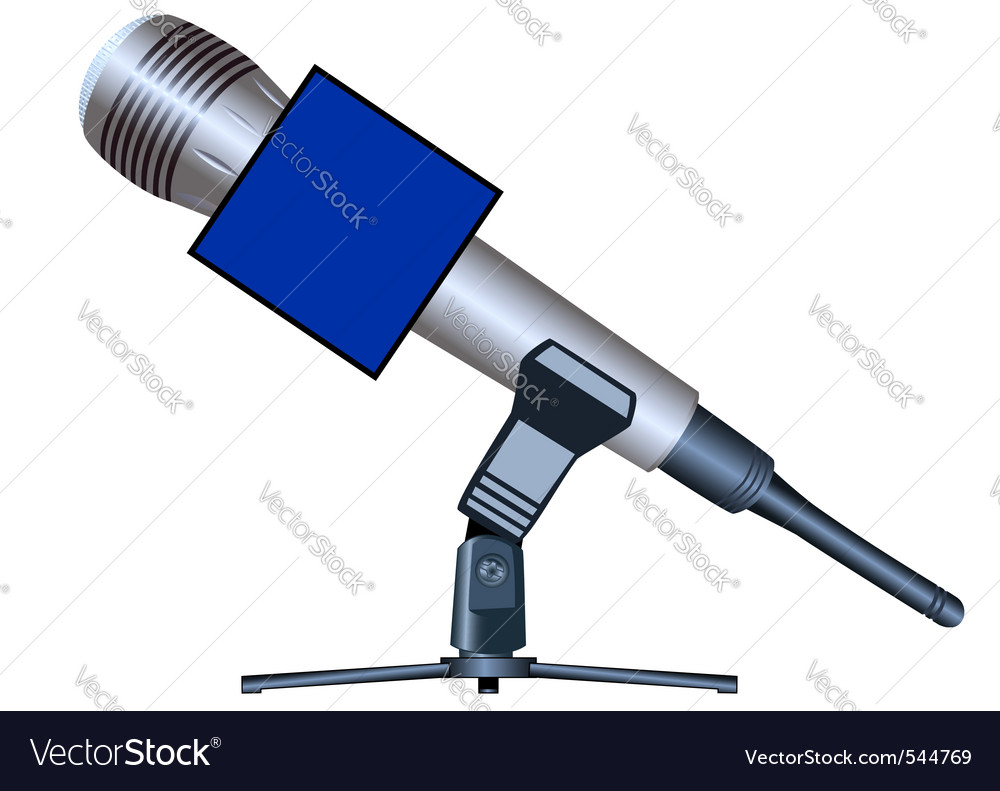 Wireless microphone vector | Price: 1 Credit (USD $1)