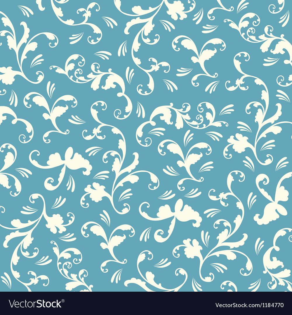 Blue abstract hand-drawn pattern vector | Price: 1 Credit (USD $1)