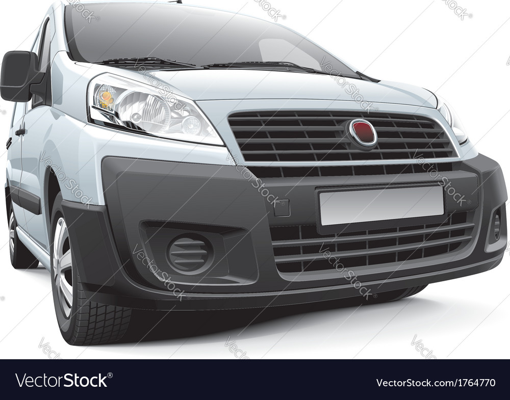 Italian light commercial vehicle vector | Price: 3 Credit (USD $3)