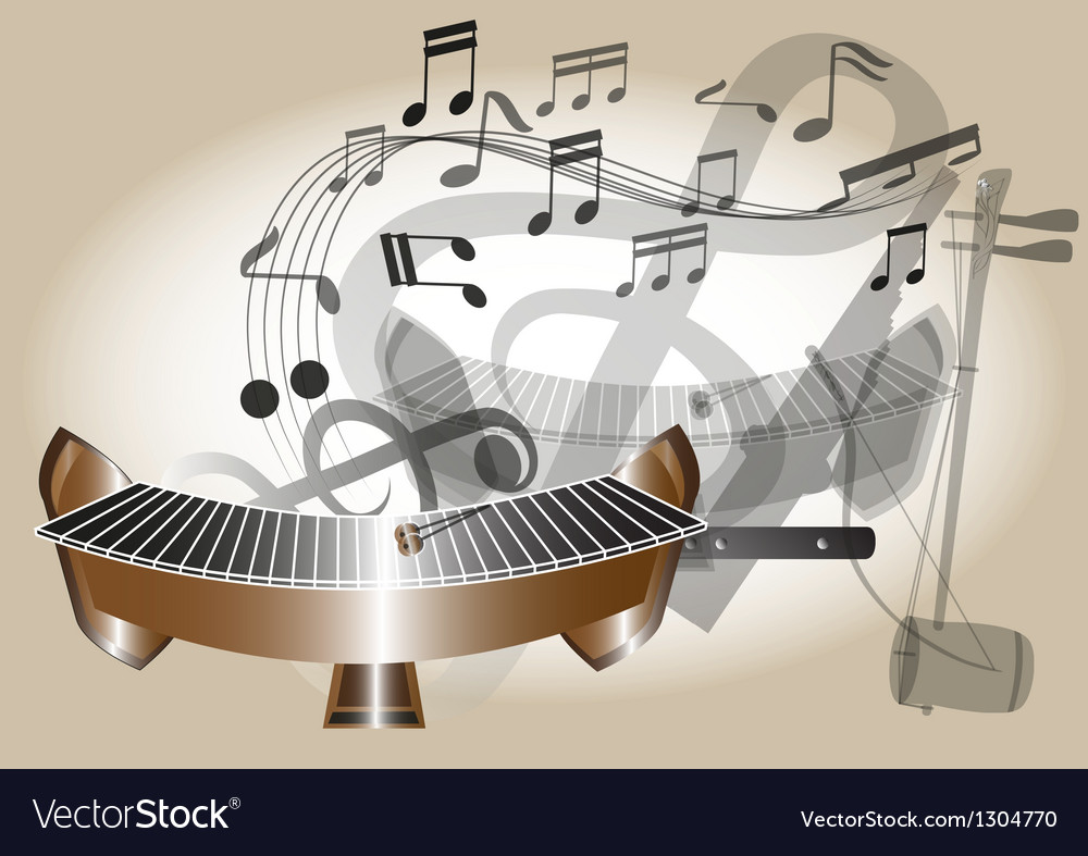 Thailand xylophone vector | Price: 1 Credit (USD $1)