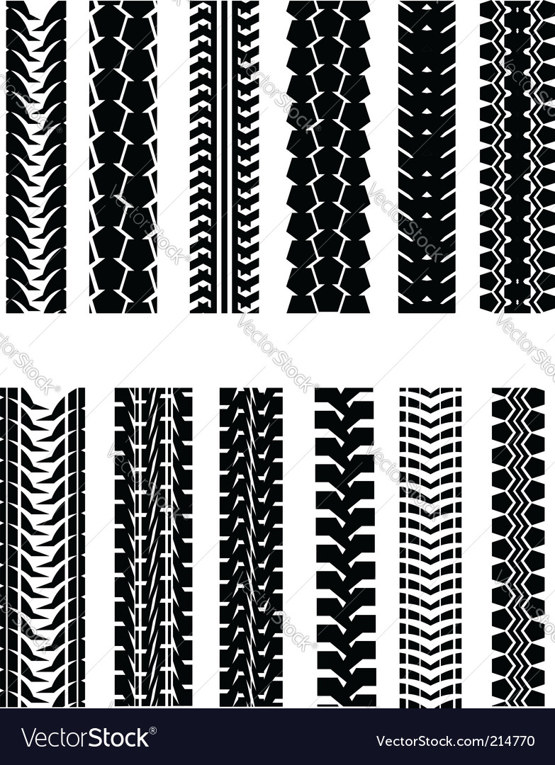 Tire shapes vector | Price: 1 Credit (USD $1)