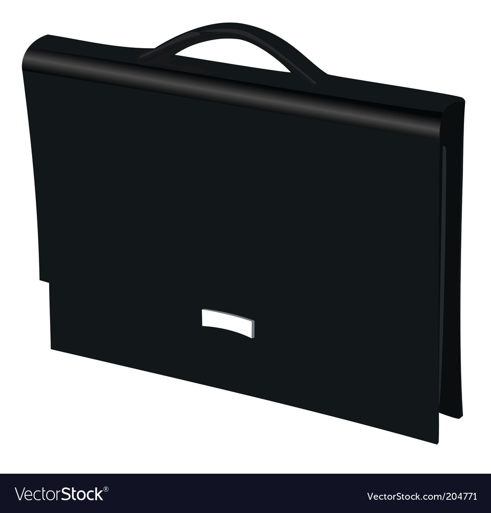 Business bag vector | Price: 1 Credit (USD $1)