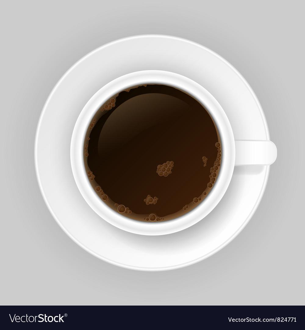 Coffee cap vector | Price: 1 Credit (USD $1)