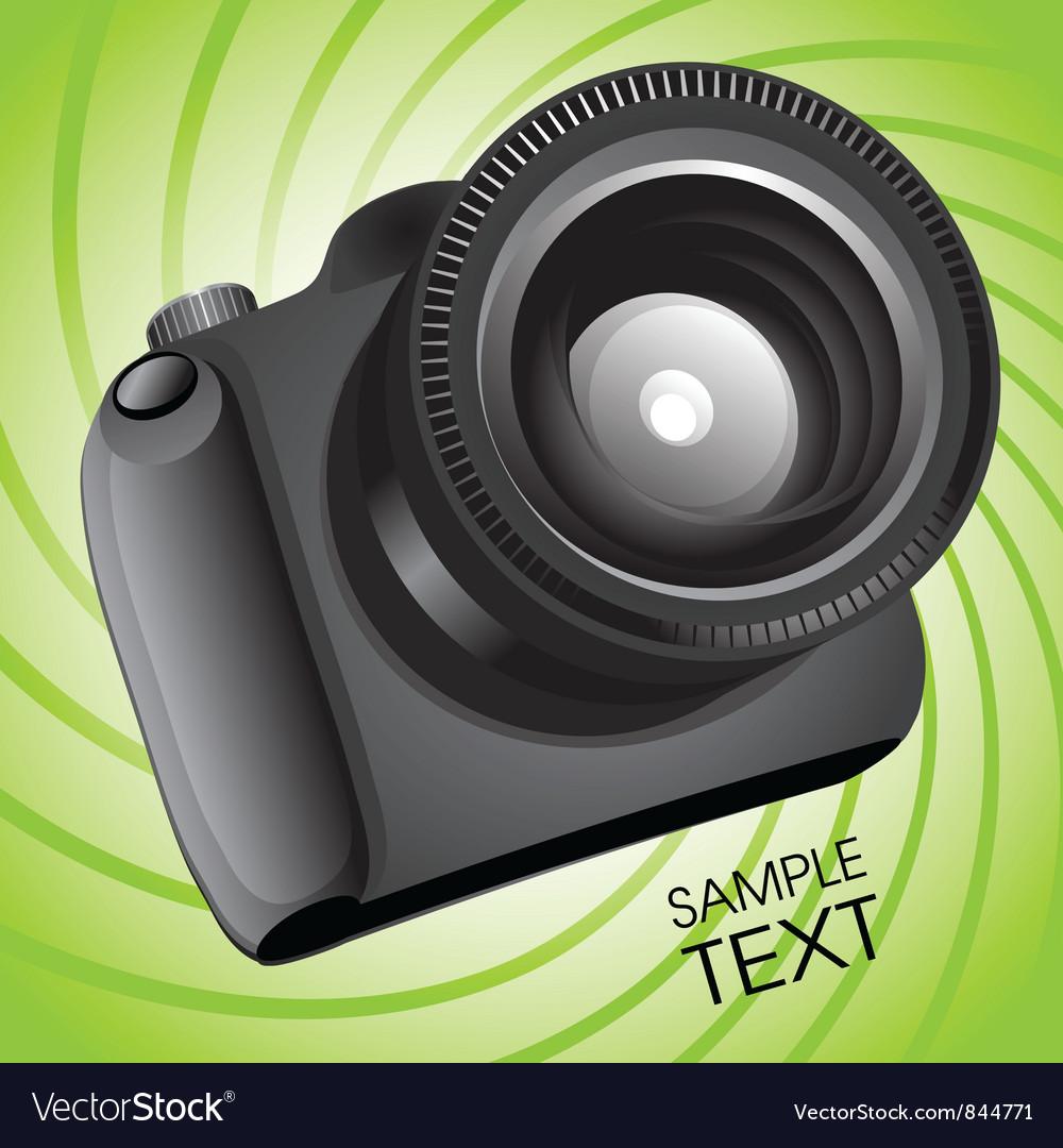 Photo camera vector | Price: 3 Credit (USD $3)