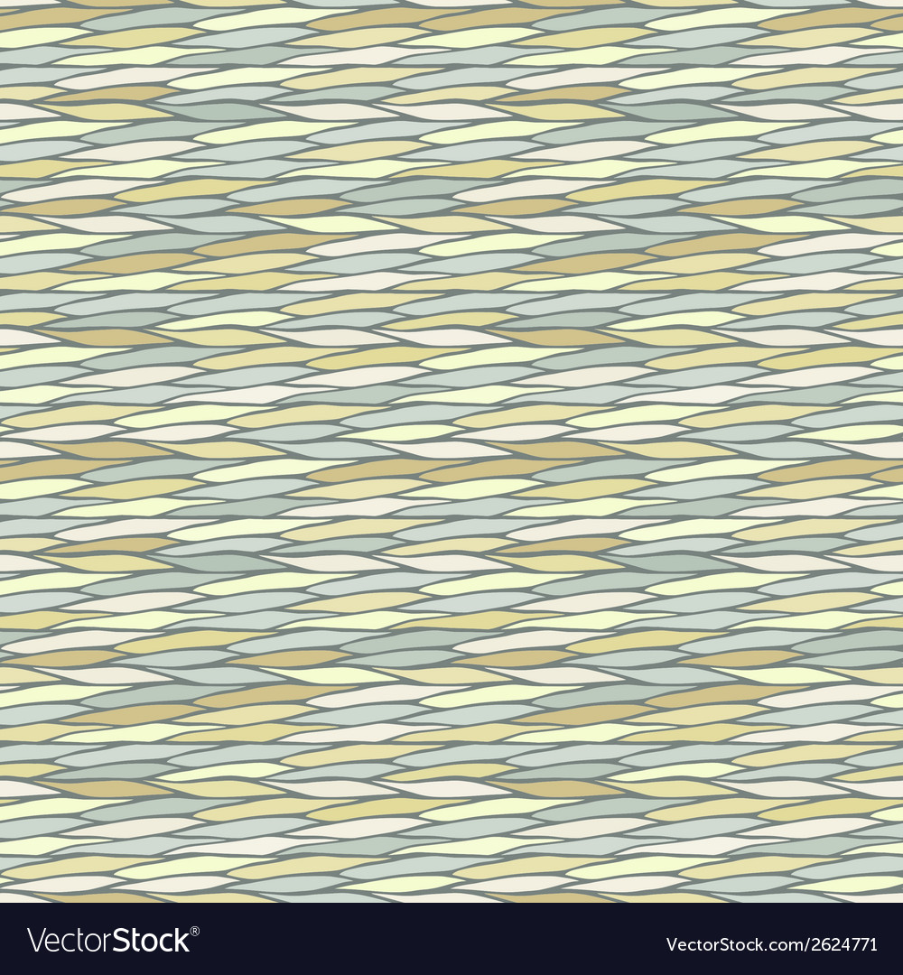 Seamless pattern with abstract waves texture vector | Price: 1 Credit (USD $1)