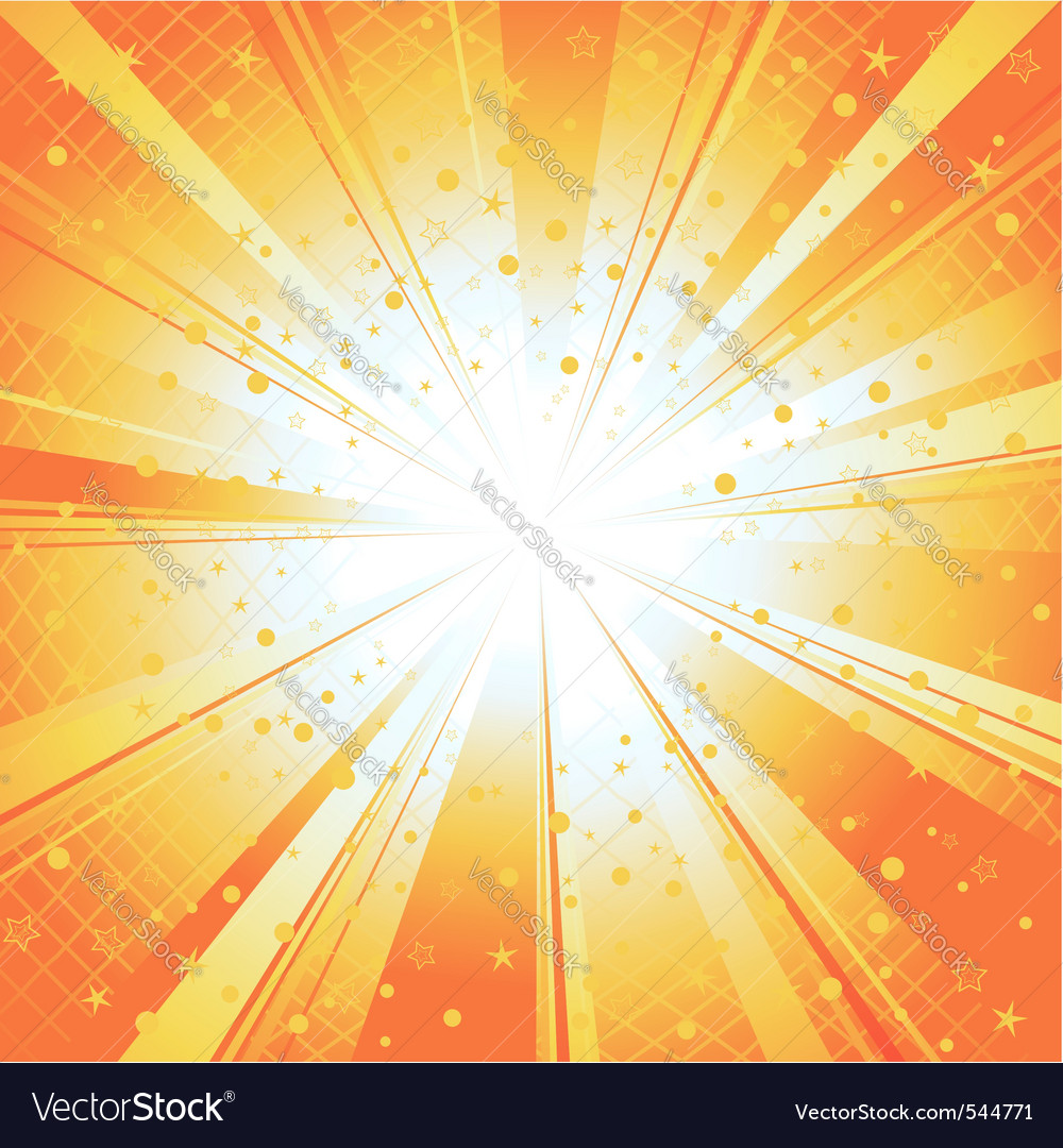 Sun ray burst vector | Price: 1 Credit (USD $1)