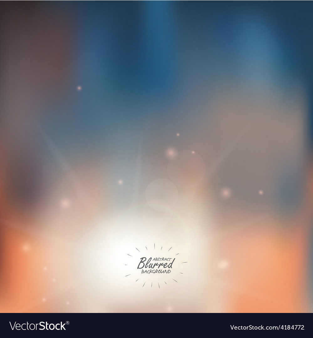 Blured background vector