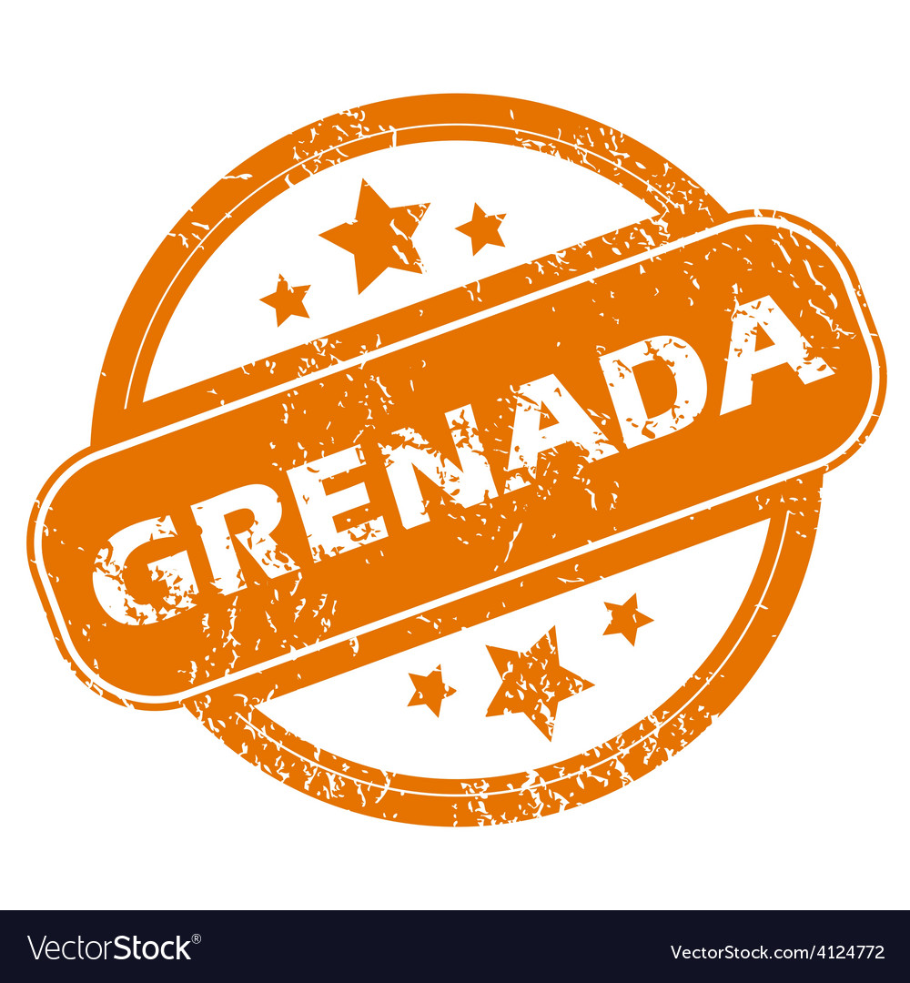 Grenada grunge icon vector | Price: 1 Credit (USD $1)
