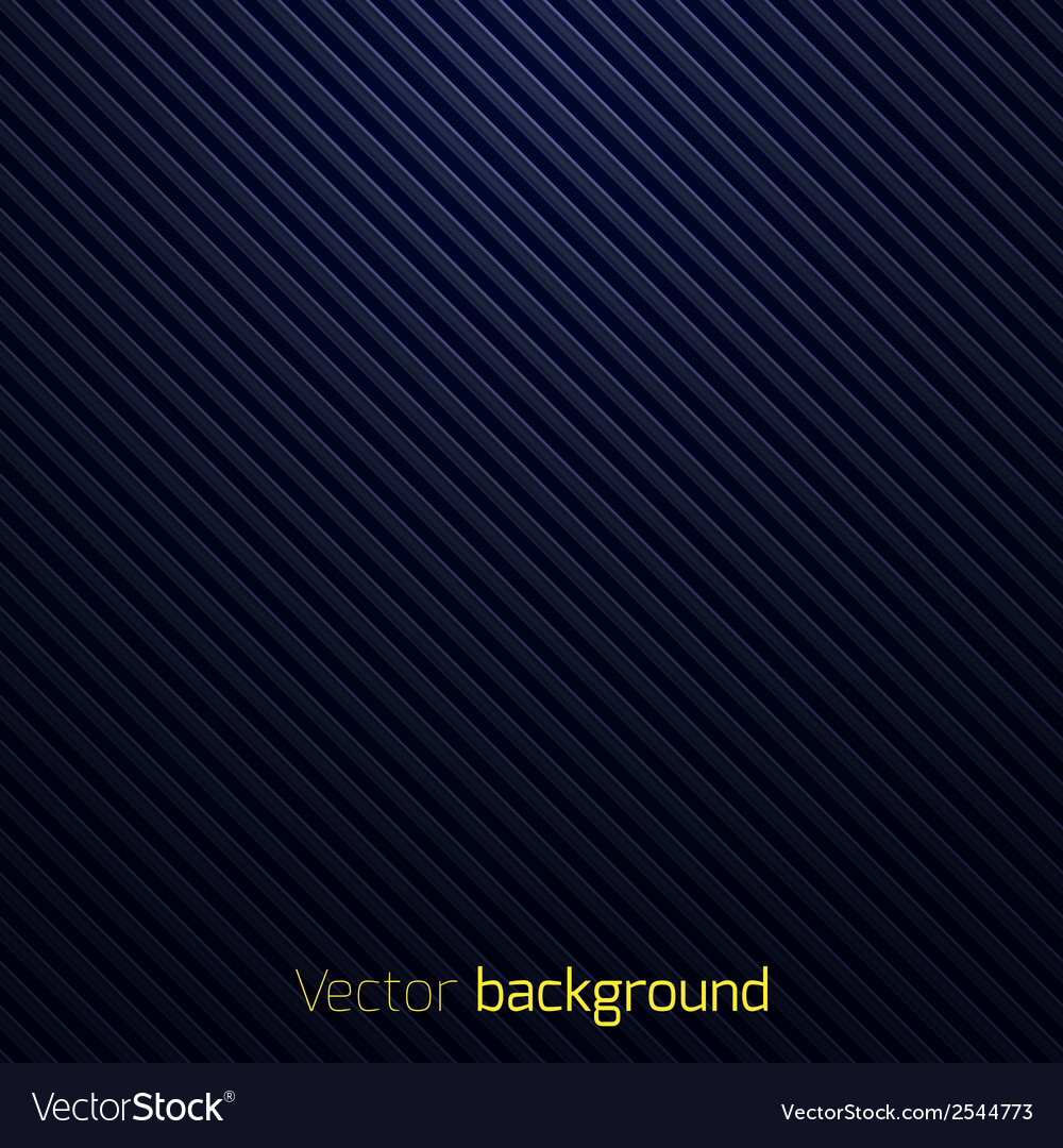 Abstract dark blue striped background vector | Price: 1 Credit (USD $1)