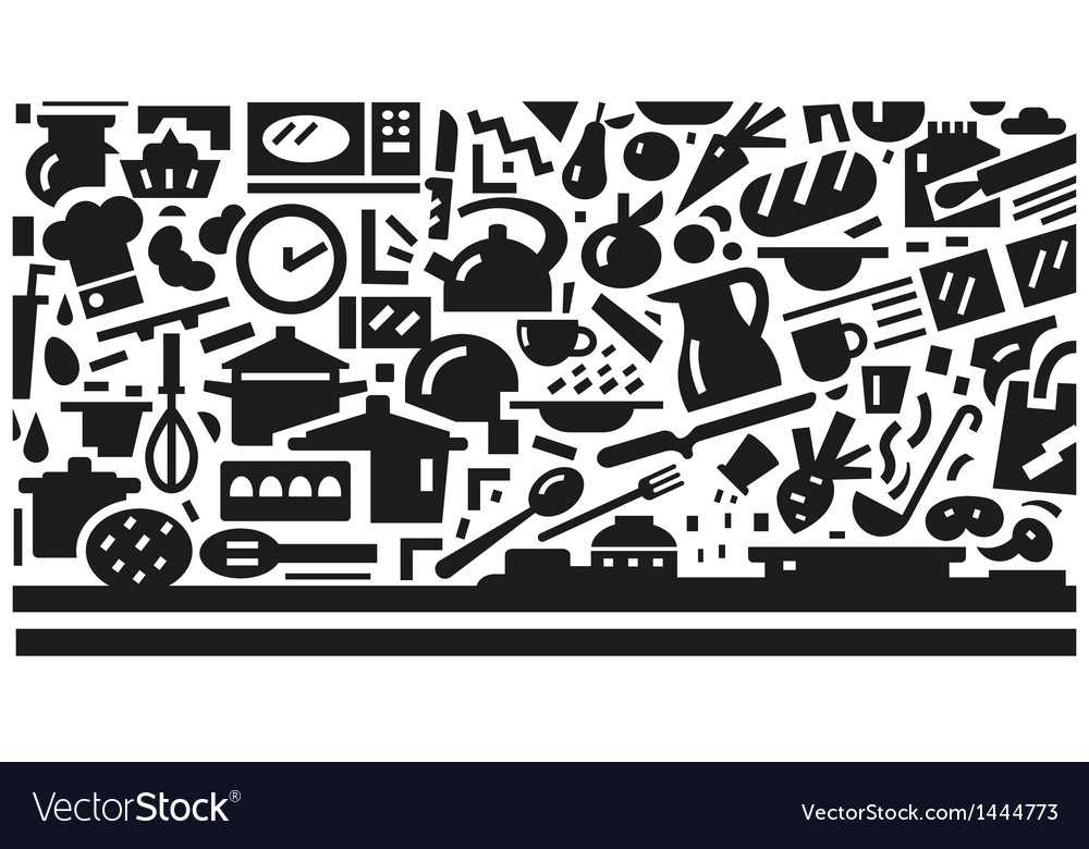 Cookery - background vector | Price: 1 Credit (USD $1)