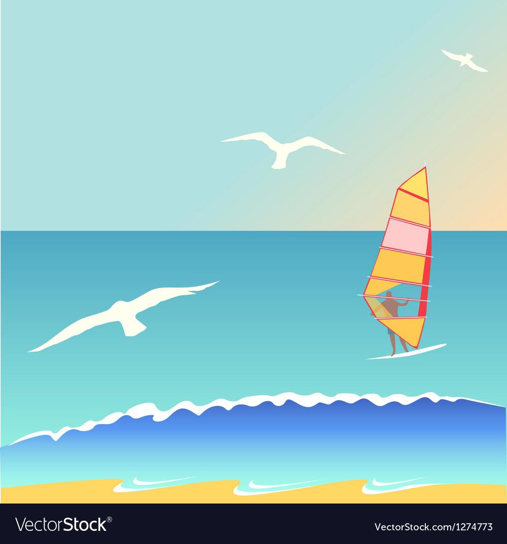 Summer surf vector | Price: 1 Credit (USD $1)