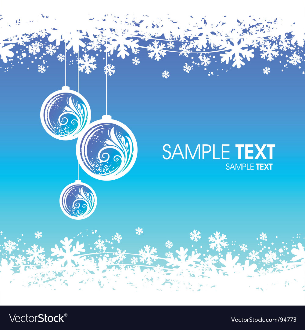 Winter backgrounds vector | Price: 1 Credit (USD $1)