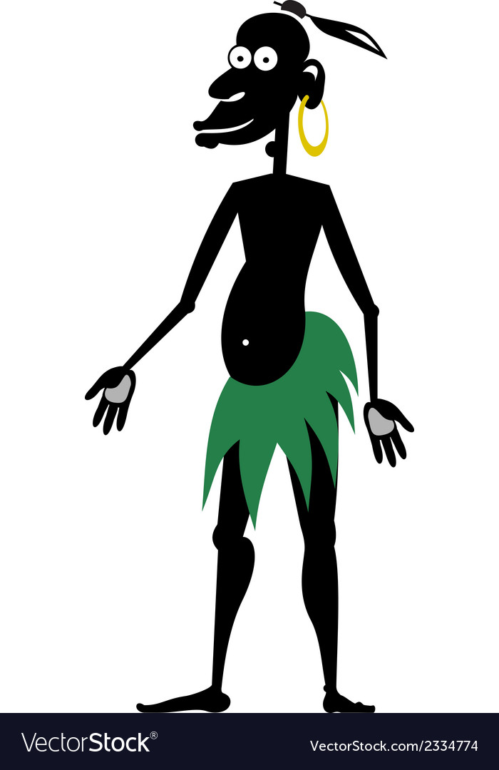 Aboriginal isolated vector | Price: 1 Credit (USD $1)
