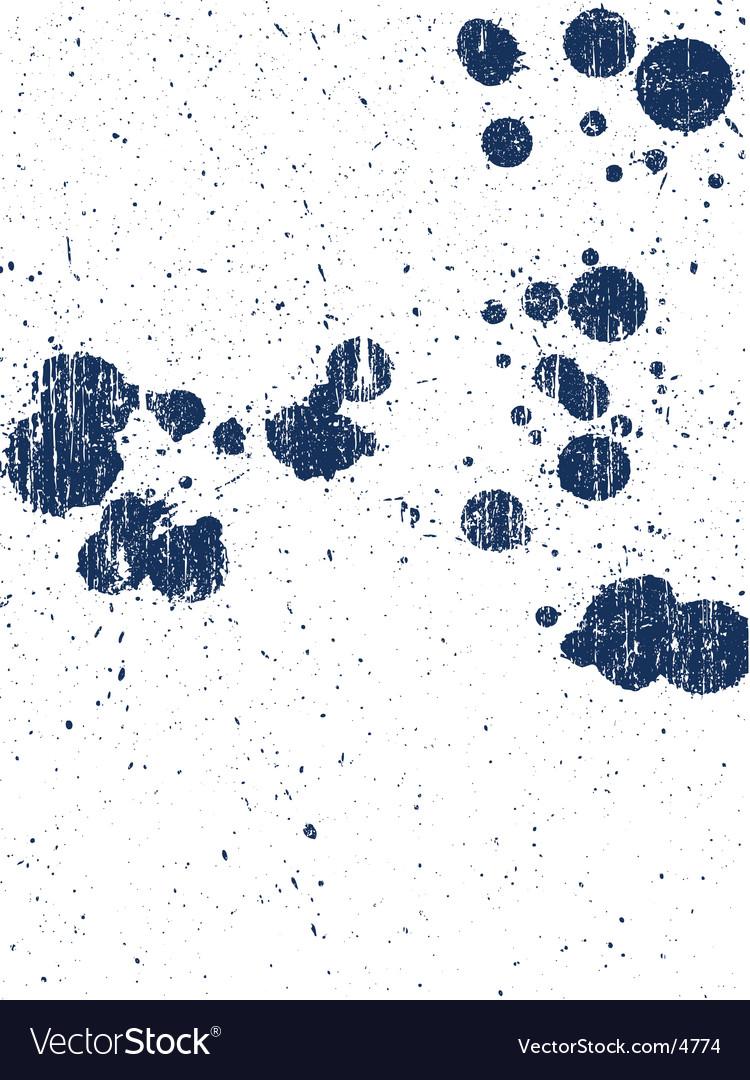 Grunge splats vector | Price: 1 Credit (USD $1)