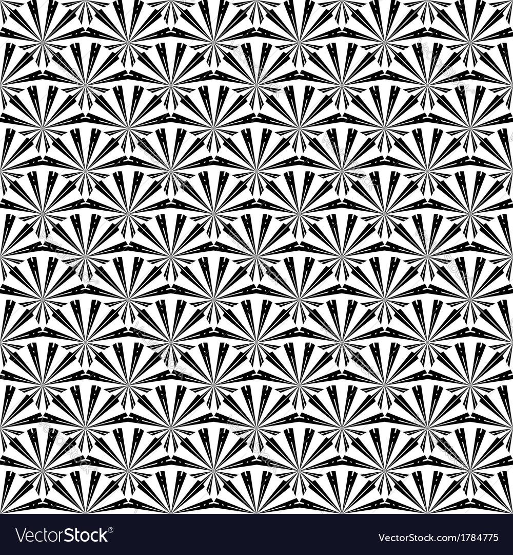 Design seamless uncolored striped pattern vector | Price: 1 Credit (USD $1)