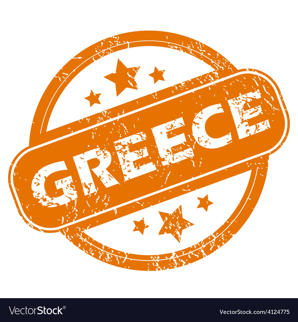 Greece grunge icon vector | Price: 1 Credit (USD $1)