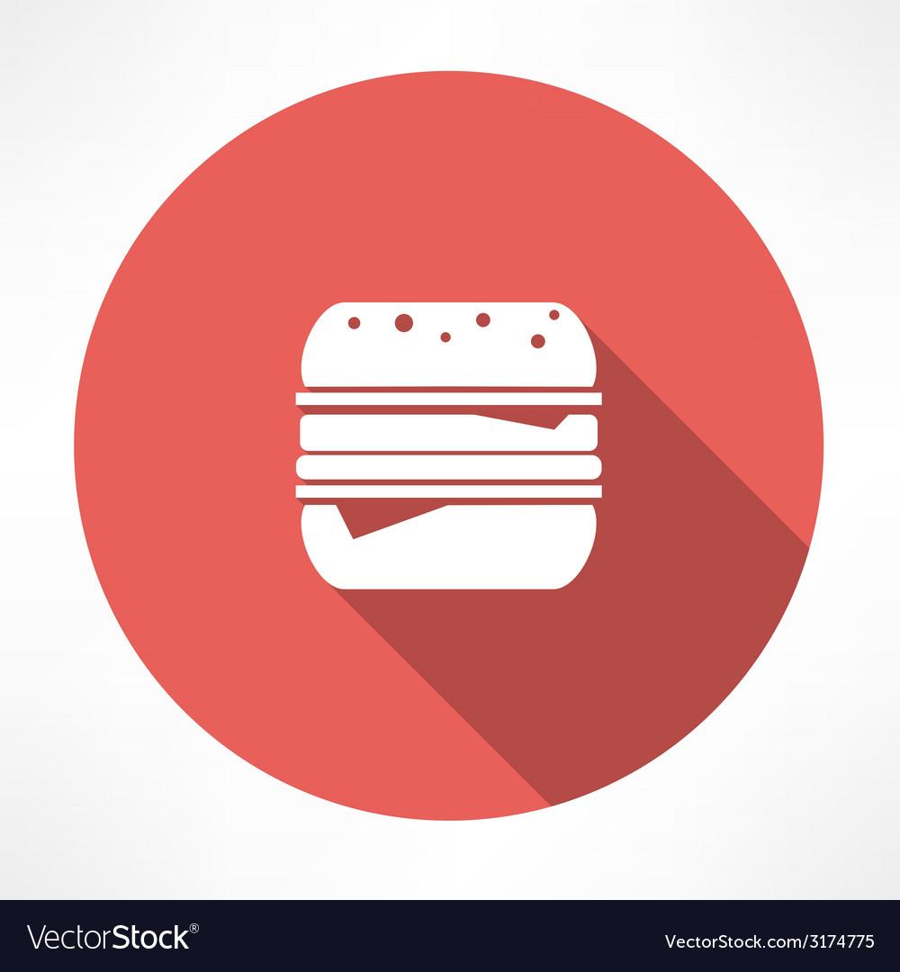 Hamburger icon vector | Price: 1 Credit (USD $1)