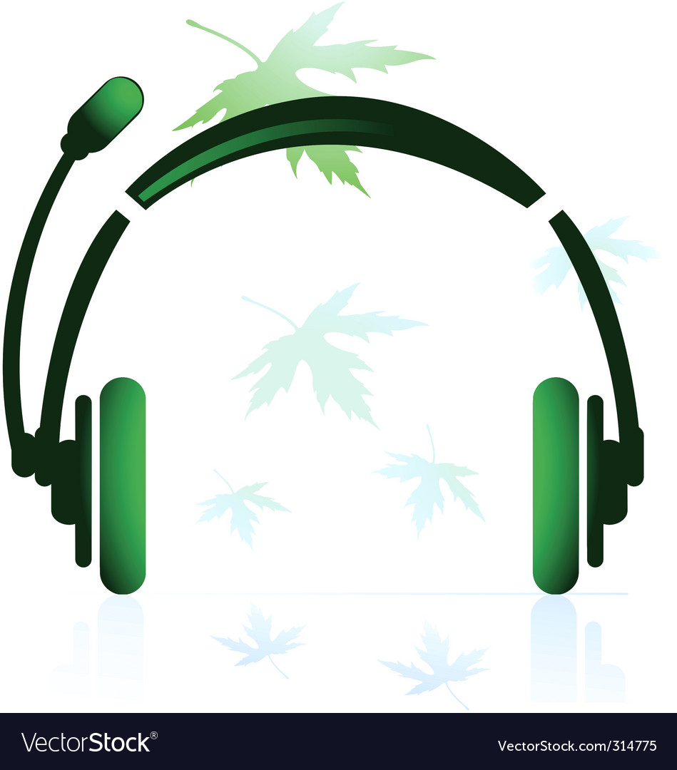 Head phone vector | Price: 1 Credit (USD $1)