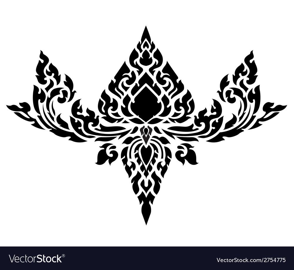 Thai art pattern vector | Price: 1 Credit (USD $1)