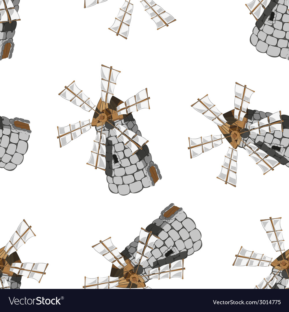 Windmill vector | Price: 1 Credit (USD $1)