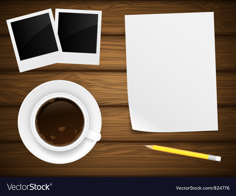 Coffee cup white paper vector | Price: 3 Credit (USD $3)