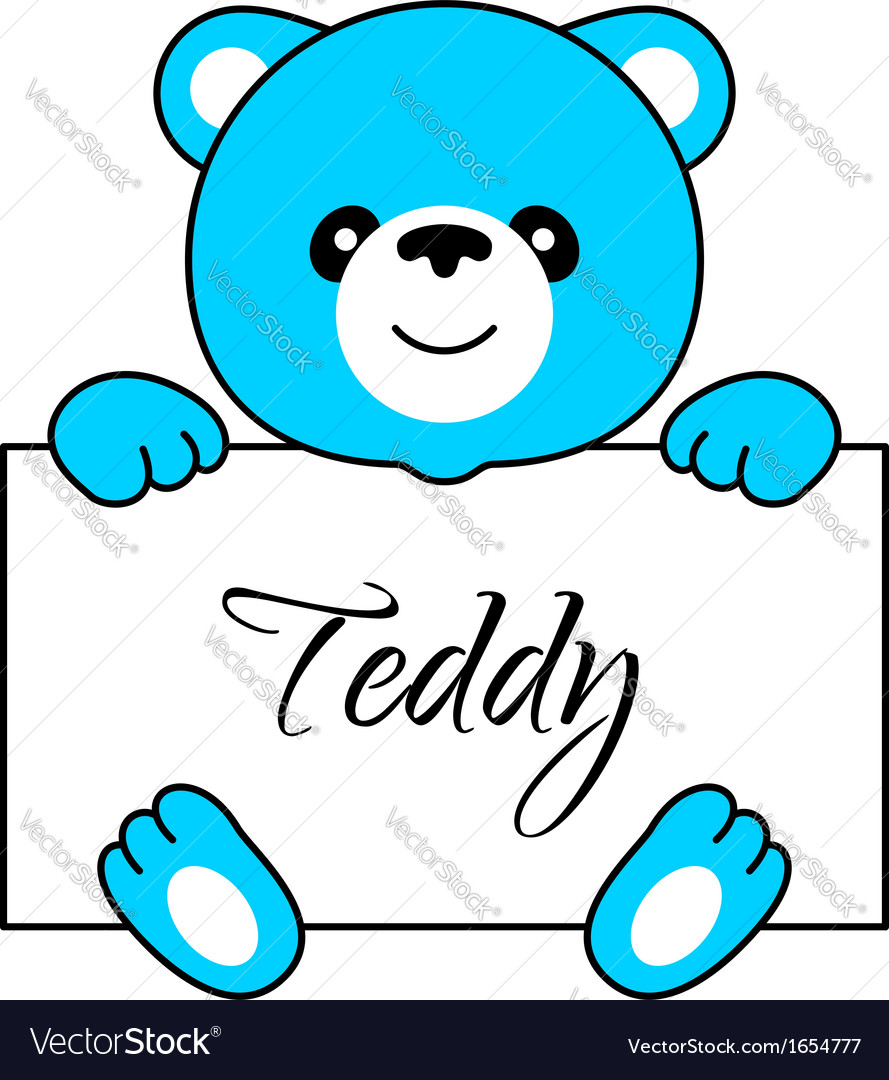 Cartoon bear boy vector | Price: 1 Credit (USD $1)