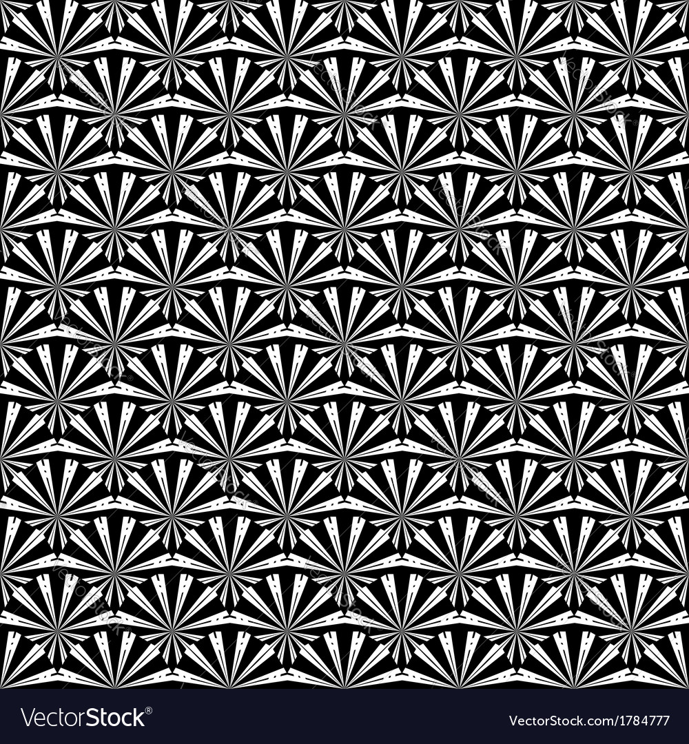 Design seamless monochrome strip abstract pattern vector | Price: 1 Credit (USD $1)