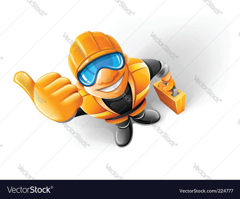 Metalworker vector | Price: 3 Credit (USD $3)