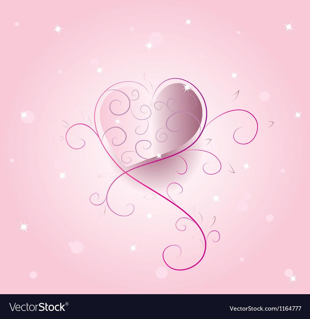 Romantic heart vector   Price: 1 Credit (USD $1)