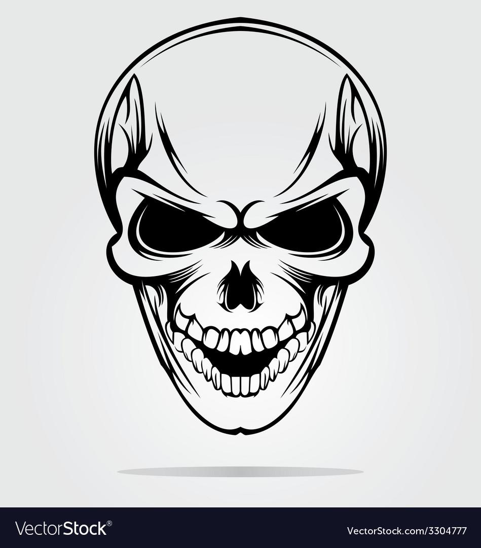 Tribal skulls vector | Price: 1 Credit (USD $1)