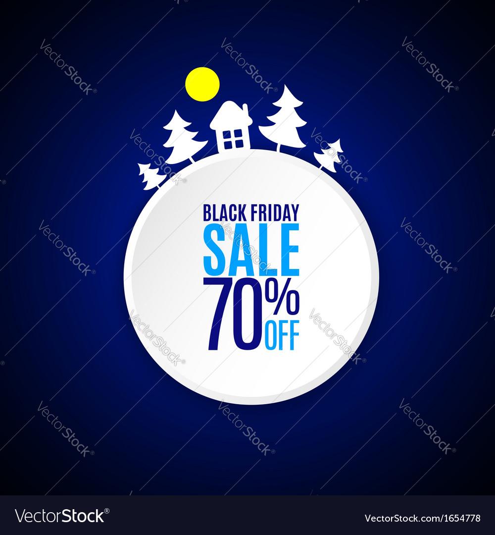 Black friday banner vector | Price: 1 Credit (USD $1)