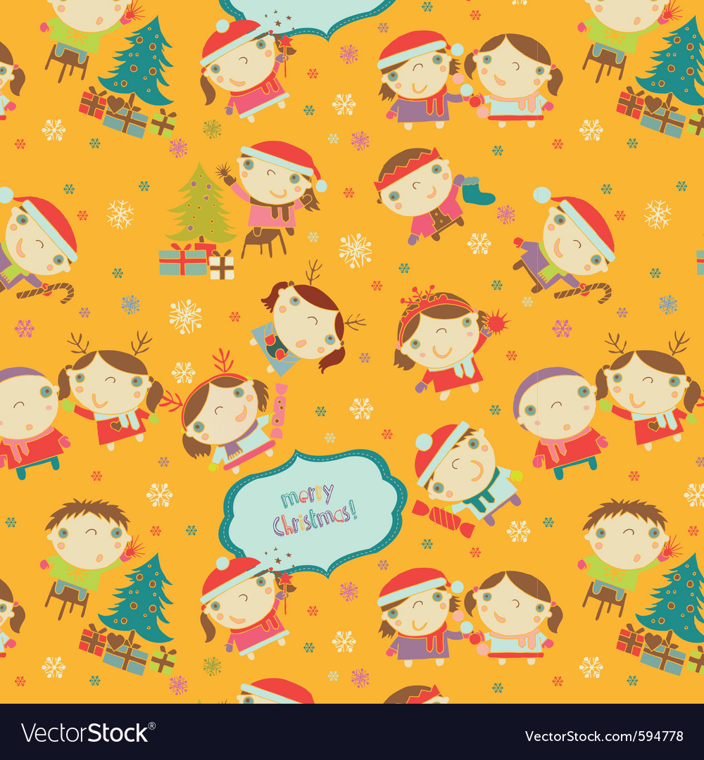 Children pattern vector | Price: 1 Credit (USD $1)