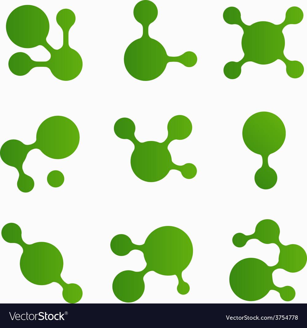 Greenblots vector | Price: 1 Credit (USD $1)