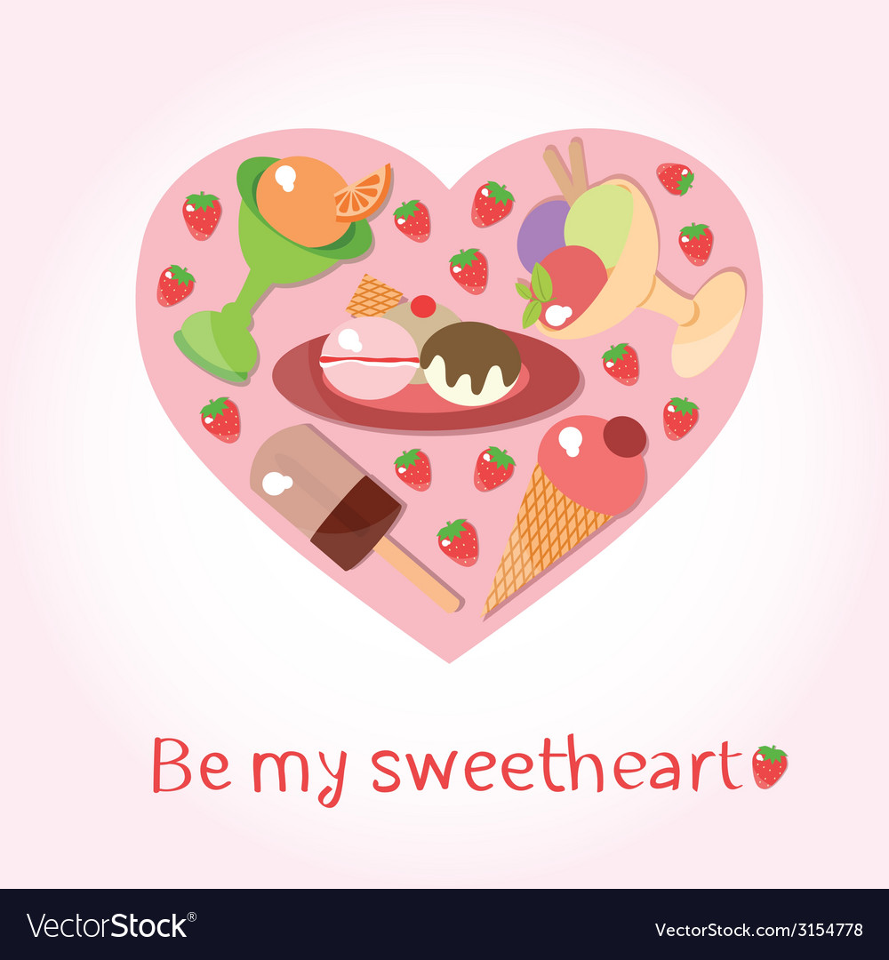 Sweetheart vector | Price: 1 Credit (USD $1)