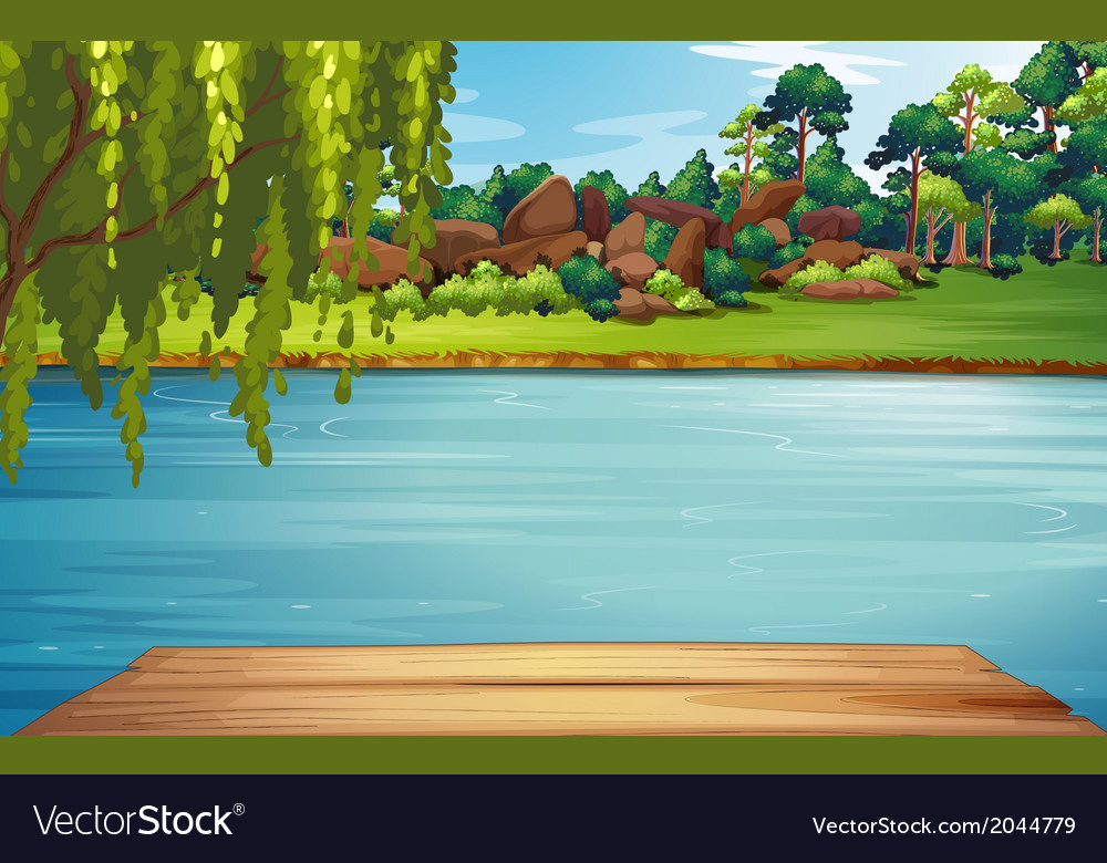 A river vector | Price: 3 Credit (USD $3)