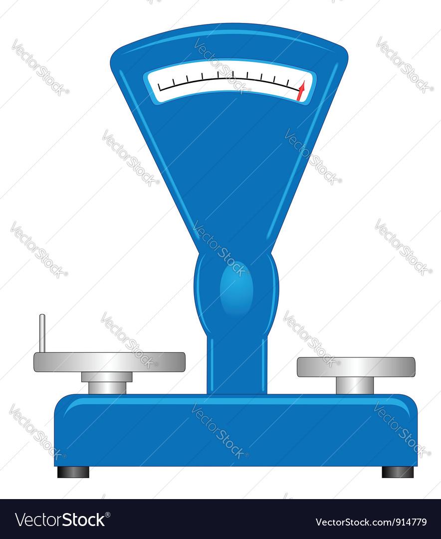 Shop scales vector | Price: 1 Credit (USD $1)