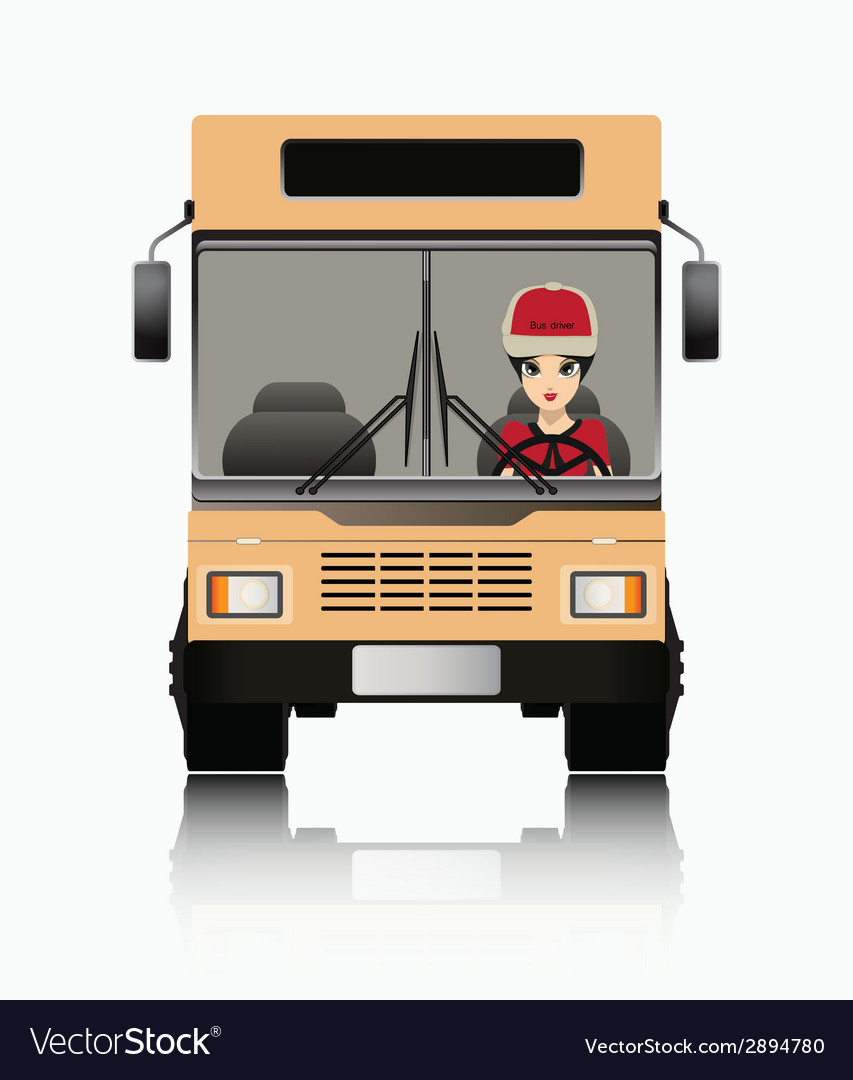 Bus driver vector | Price: 1 Credit (USD $1)