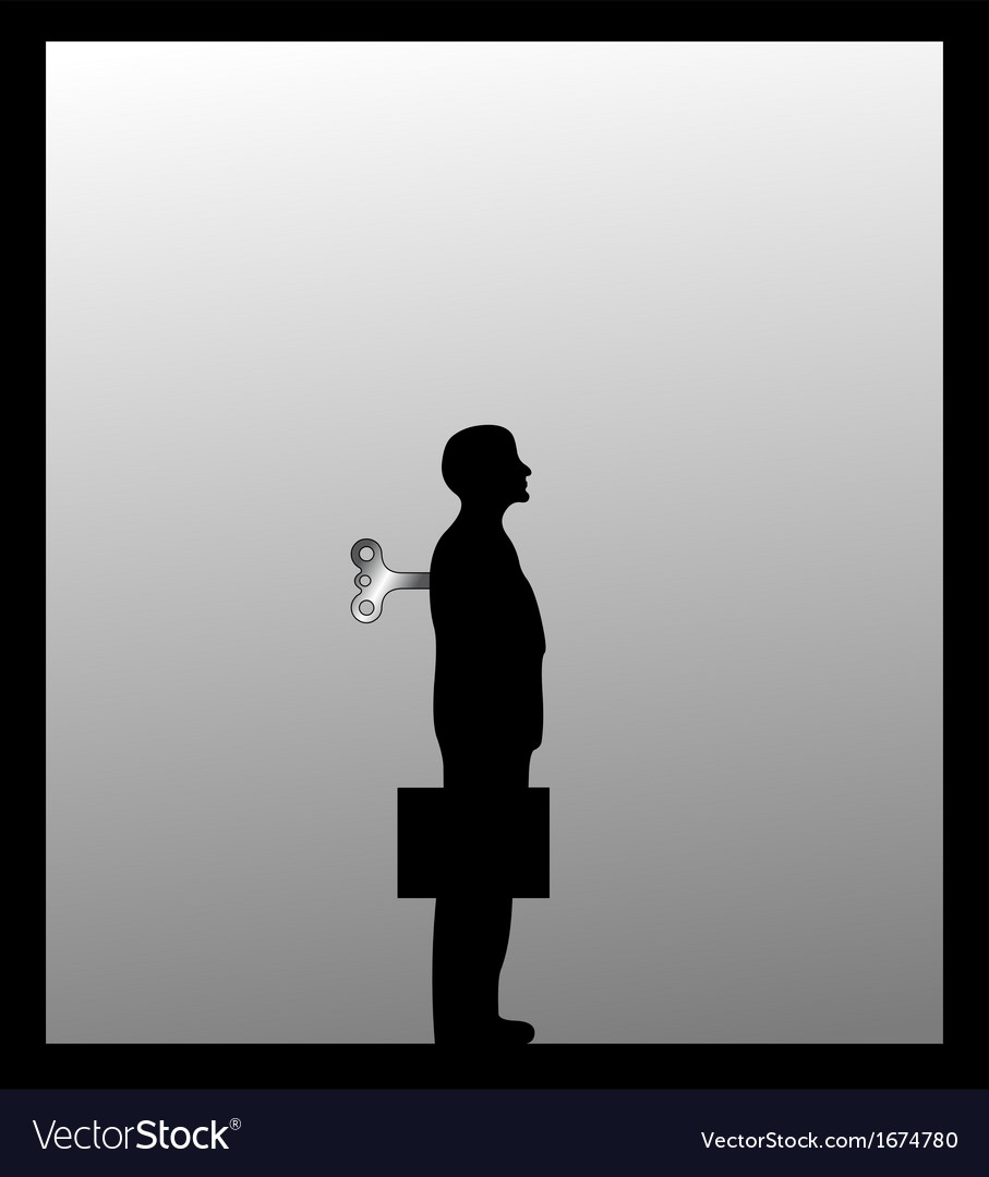 Image of businessman vector | Price: 1 Credit (USD $1)