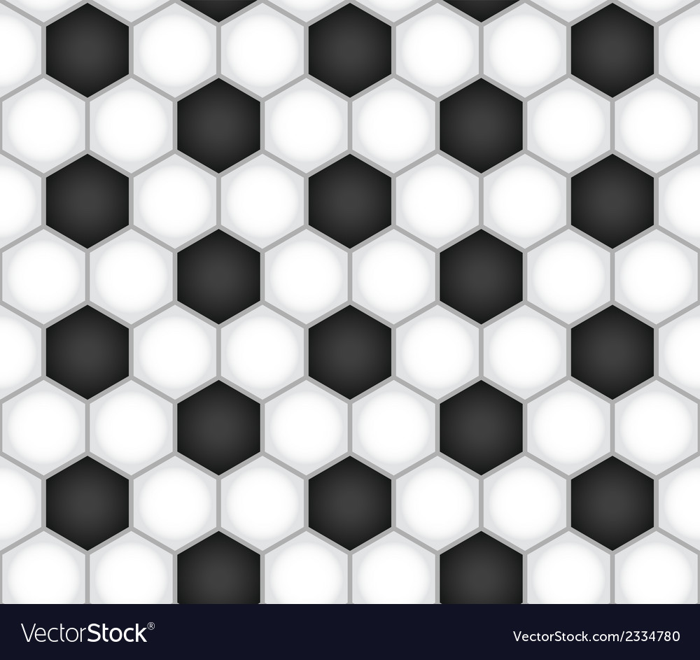 Seamless football background vector | Price: 1 Credit (USD $1)