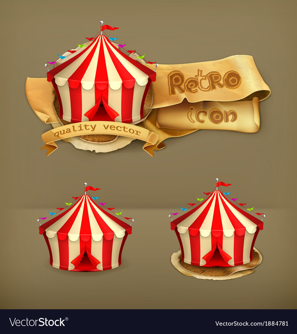 Circus icon vector | Price: 1 Credit (USD $1)
