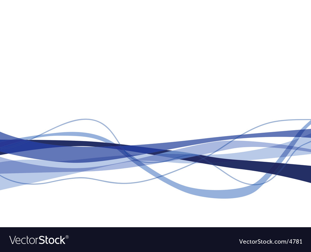 Wavy blues vector | Price: 1 Credit (USD $1)