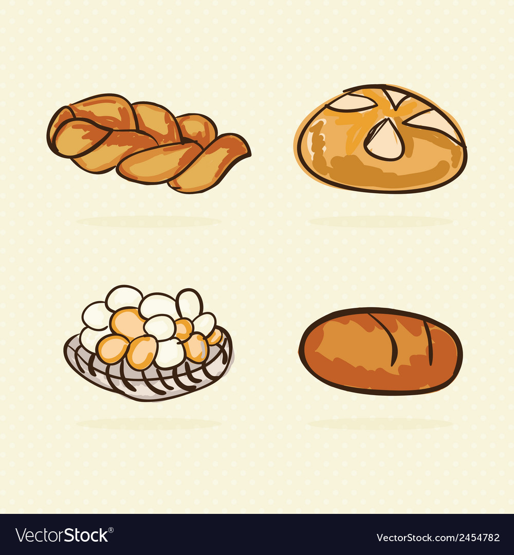 Bakery icons vector | Price: 1 Credit (USD $1)