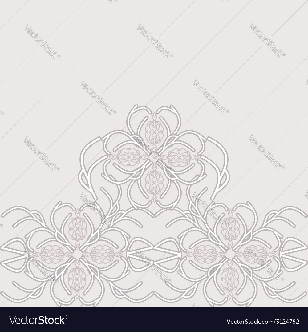 Decorative lace vector | Price: 1 Credit (USD $1)