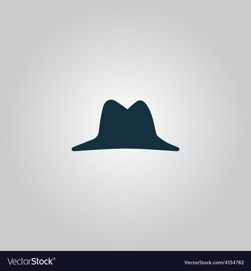 Mens hat icon vector | Price: 1 Credit (USD $1)