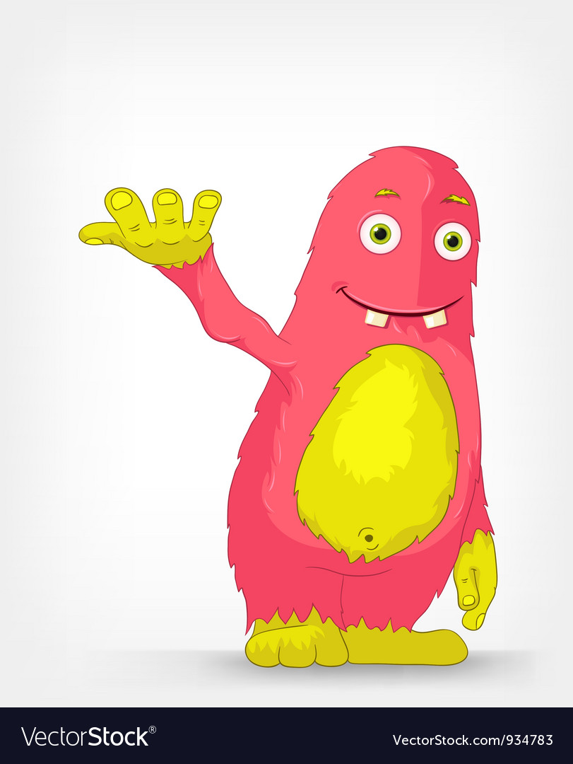 Funny monster vector | Price: 1 Credit (USD $1)