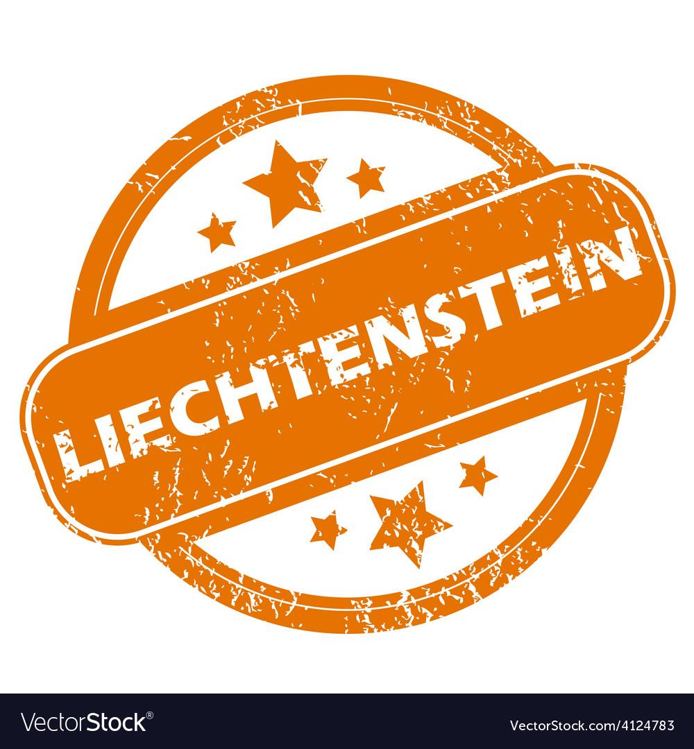 Liechtenstein grunge icon vector | Price: 1 Credit (USD $1)