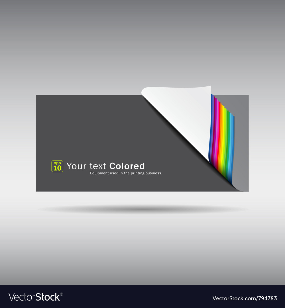 Paper note overlap on gray background vector | Price: 1 Credit (USD $1)