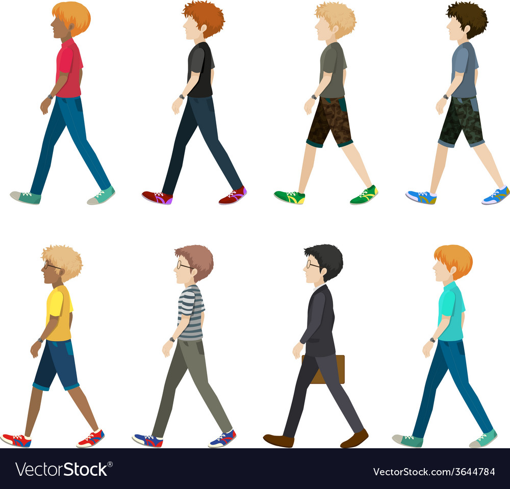 A group of faceless people vector | Price: 1 Credit (USD $1)